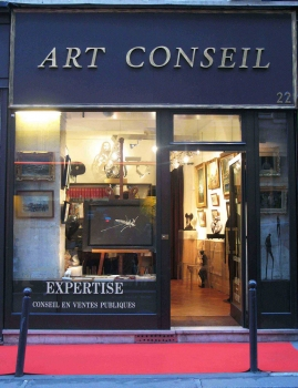 {Paris Expert d'art} Art conseil à Paris