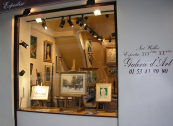 {Paris Expert d'art} La Galerie Art Conseil - Ouvrages et sites d'art